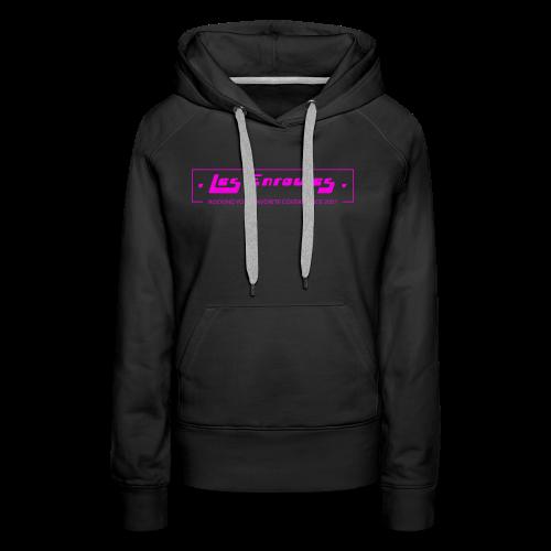 Rocking since 2001! Pink - Sweat-shirt à capuche Premium pour femmes