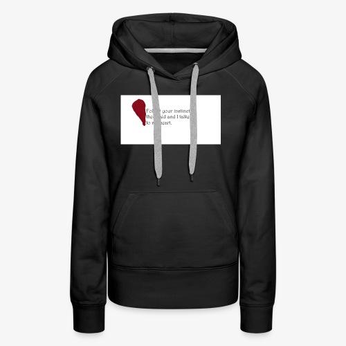 Heart Art - Frauen Premium Hoodie