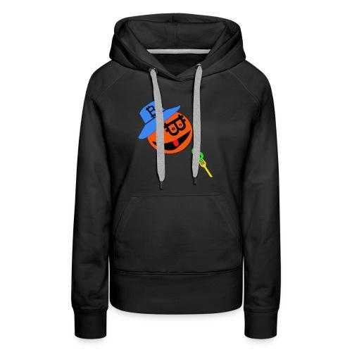 Eat dollar BY BITCOIN - Vrouwen Premium hoodie