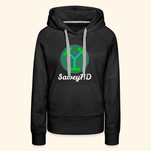 SaweyHD Schwarz - Frauen Premium Hoodie