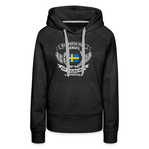 Schweden T-Shirt Urlaub - Frauen Premium Hoodie