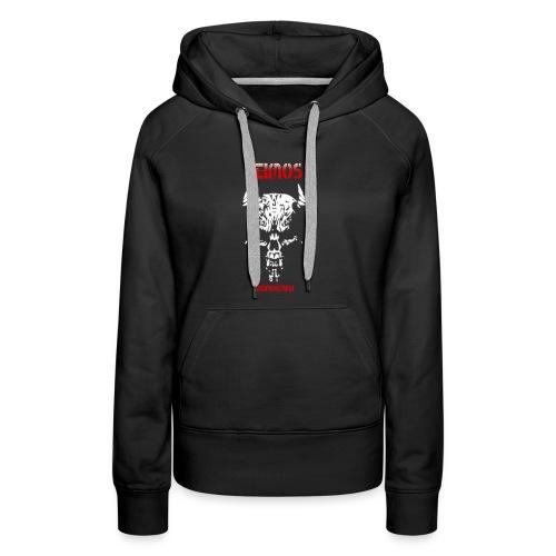 Deimos und Deimoscrew mit Skull - Frauen Premium Hoodie