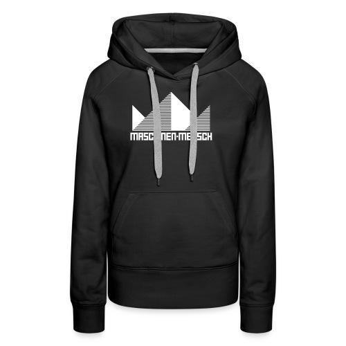 Maschinen-Mensch Logo black - Frauen Premium Hoodie