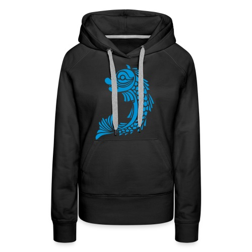 grenoble dauphin - Sweat-shirt à capuche Premium pour femmes