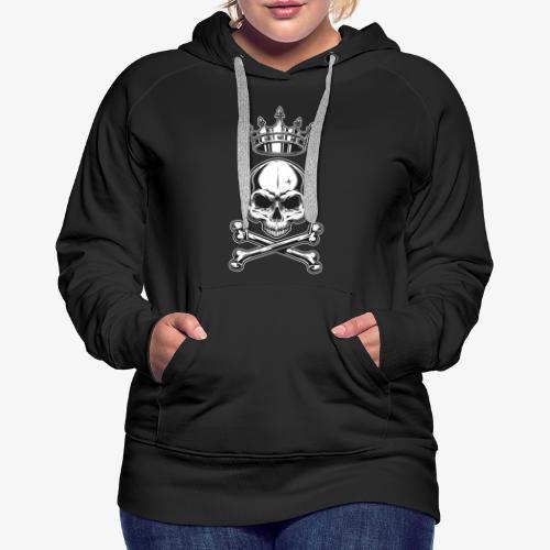 Skull King -Totenkopf König - Frauen Premium Hoodie
