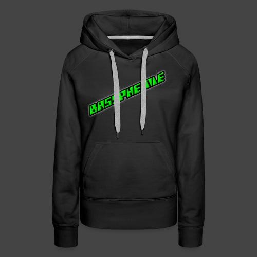 Bassphemie - Neongrün II - Frauen Premium Hoodie