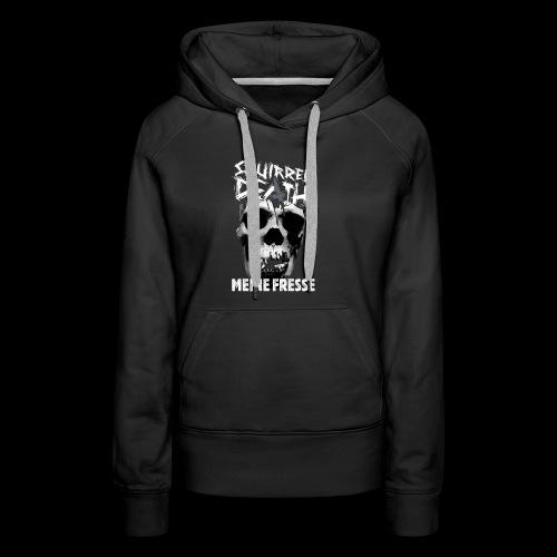 SQUIRREL DEATH - 'MEINE FRESSE' - Frauen Premium Hoodie