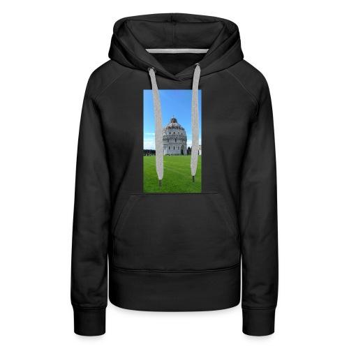 Pisa mágica - Sudadera con capucha premium para mujer