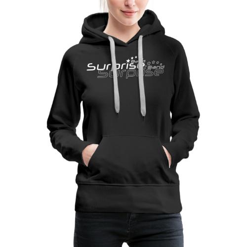 Logo Suprise Band mit Cut-Out - Frauen Premium Hoodie