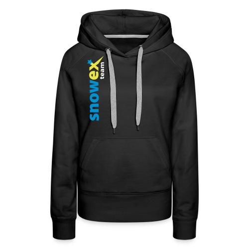 snowexteam blue - Frauen Premium Hoodie