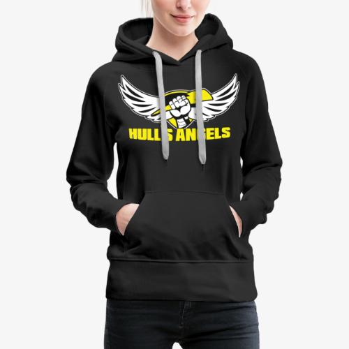 Hull's Angels Logo - Front and Center - Women's Premium Hoodie