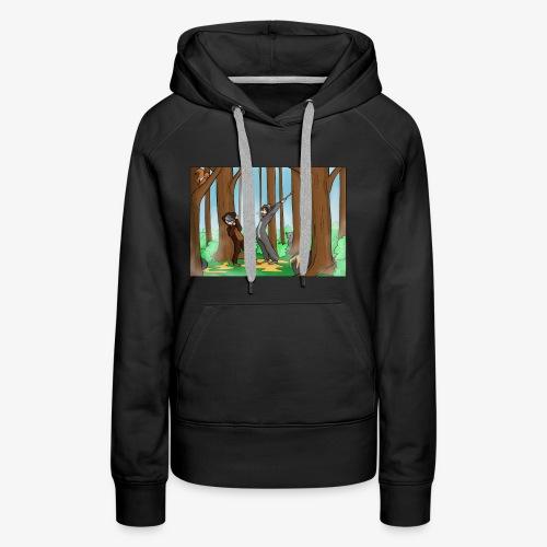 BEERTJEEE - Vrouwen Premium hoodie