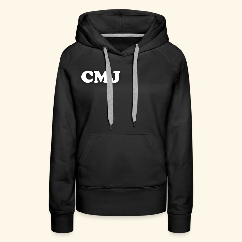 CMJ white merch - Women's Premium Hoodie