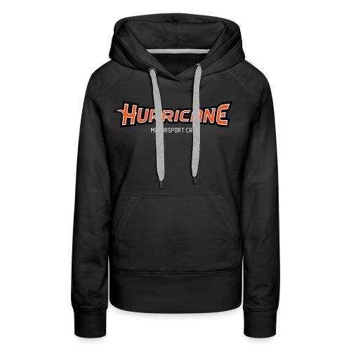 HurricanesMotorsport - Sweat-shirt à capuche Premium pour femmes