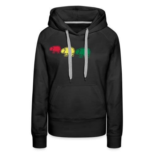 black sheep - Sweat-shirt à capuche Premium pour femmes