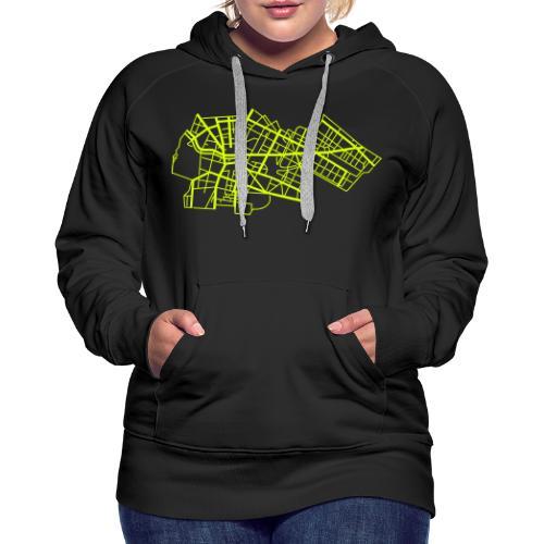 Berlin Kreuzberg - Sweat-shirt à capuche Premium pour femmes