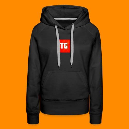 T-Shirt Vrouwen met logo - Vrouwen Premium hoodie