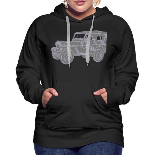 Geländewagen SUV 2 - Frauen Premium Hoodie