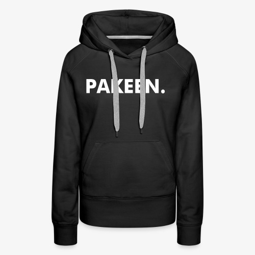 PAKEEN. Zwart - Vrouwen Premium hoodie