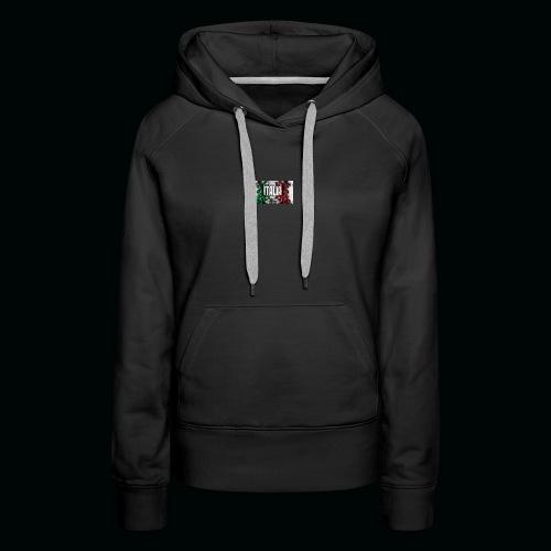 hardcore1 - Sweat-shirt à capuche Premium pour femmes