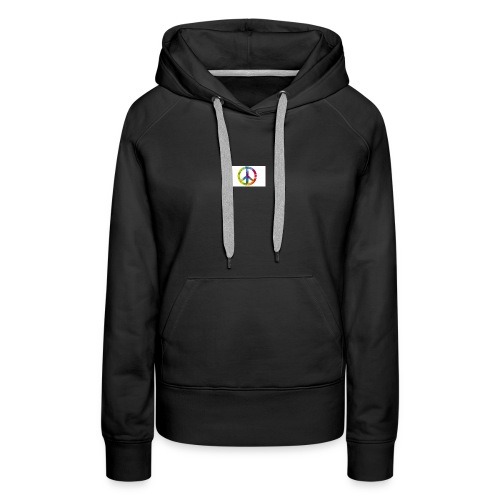 peace for love - Women's Premium Hoodie