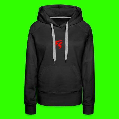 FS Logo rood - Vrouwen Premium hoodie