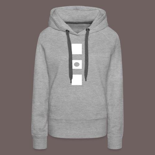GBIGBO zjebeezjeboo - Rock - Blocs 3 - Sweat-shirt à capuche Premium pour femmes