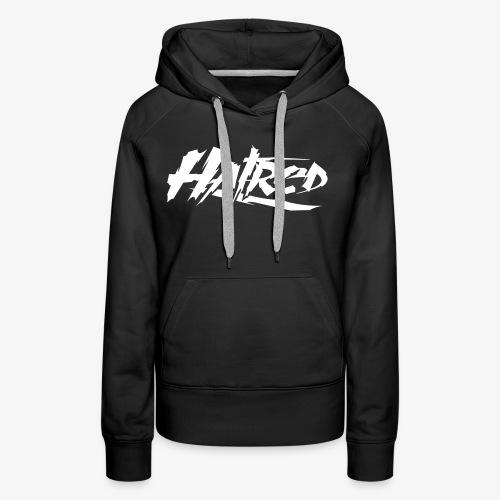 Hatred Shirt (Herren) Logo - Frauen Premium Hoodie
