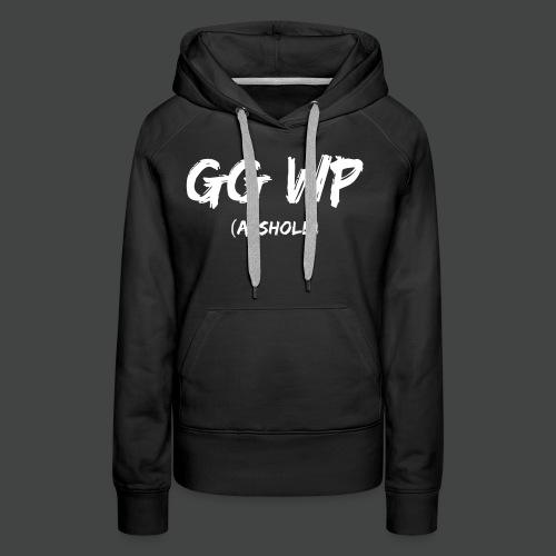 ggwp - Felpa con cappuccio premium da donna