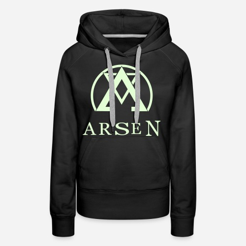 arsen logo finalvector - Frauen Premium Hoodie