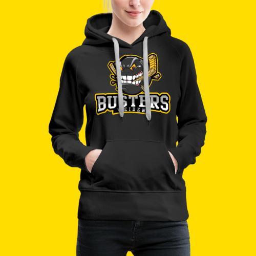 Busters Fun Shirt - ANGRY PUCK - Frauen Premium Hoodie