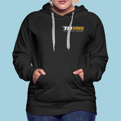 Tobi Logo Grau - Frauen Premium Hoodie