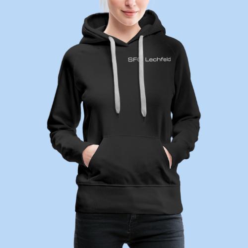 Rückrat der SFG Lechfeld - Frauen Premium Hoodie