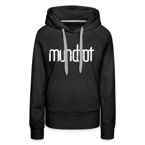 Mundtot Schwarz - Frauen Premium Hoodie