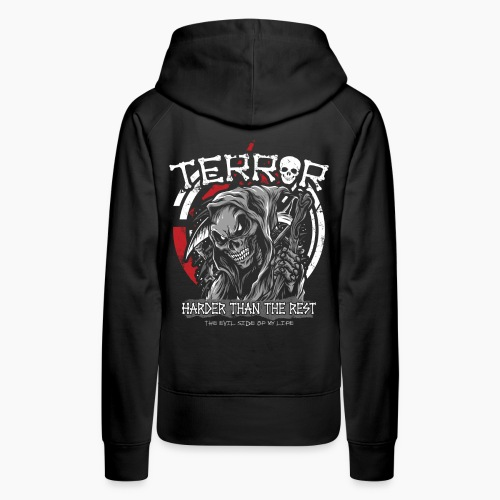 Terror - Harder Than The Rest - Women's Premium Hoodie