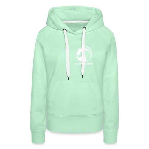 LgHazelaarWhite - Vrouwen Premium hoodie