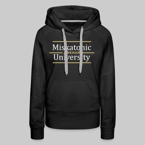 Miskatonic University - Frauen Premium Hoodie