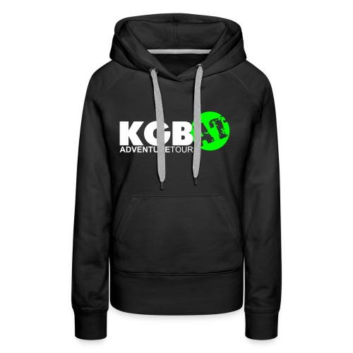 Logo KGB AT Spreadshirt 2 - Frauen Premium Hoodie