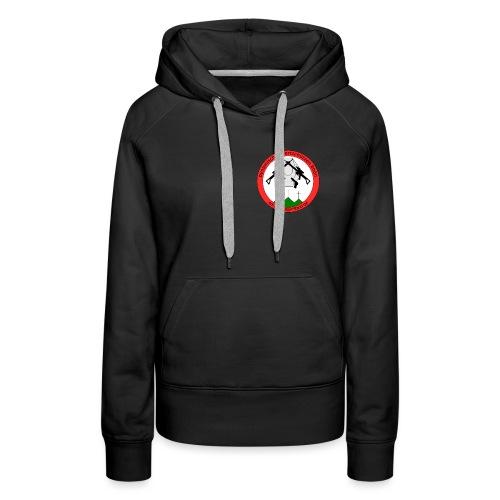 Logo Dynamische Sportschuetzen Rhoen DSR - Frauen Premium Hoodie