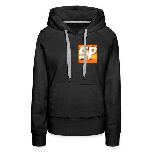 SP logo - Sweat-shirt à capuche Premium pour femmes