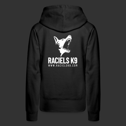 Raciels K9 TEXT & HEAD 2 - Women's Premium Hoodie