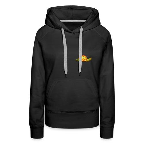 Angry Turtle Fluo - Sweat-shirt à capuche Premium pour femmes