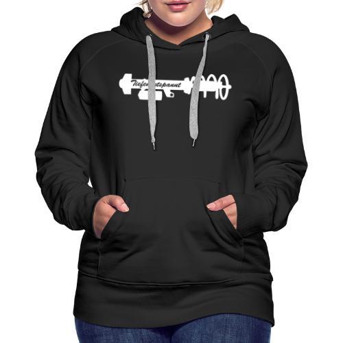 Tiefenentspannt - Frauen Premium Hoodie