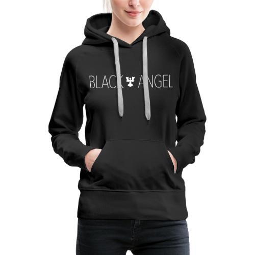 BLACK ANGEL - Sweat-shirt à capuche Premium pour femmes