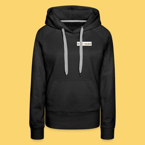log 3 jpg - Sweat-shirt à capuche Premium pour femmes