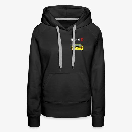 initial d - FD - Sweat-shirt à capuche Premium pour femmes
