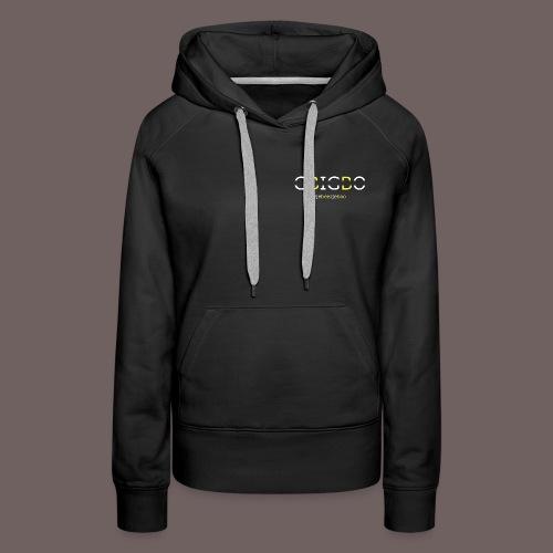 GBIGBO zjebeezjeboo - Retour à l'essentiel - Sweat-shirt à capuche Premium pour femmes