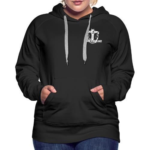 Baroque Records Logo Small - Frauen Premium Hoodie