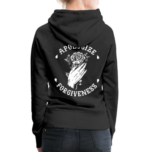 HELL apparel | APOLOGIZE & FORGIVENESS | 2019 - Frauen Premium Hoodie