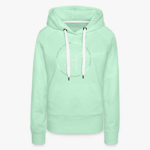 SMAT FIT NUTRITION & FITNESS FEMME - Sudadera con capucha premium para mujer